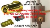protege cylindre fichet 484